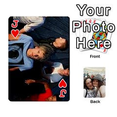 Jack Photos 2011 By Amber   Playing Cards 54 Designs   Yad89uozmf2m   Www Artscow Com Front - HeartJ