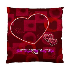 You Light Up My Life Pink Double Sided Cushion Case By Ellan   Standard Cushion Case (two Sides)   Q6d5n3nl46ds   Www Artscow Com Back