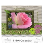 My Garden 2013  (any Year) Calendar 8.5x6 - Wall Calendar 8.5 x 6