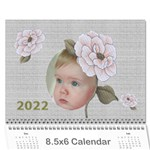 Delight 2017  (any year) Calendar 8.5x6 - Wall Calendar 8.5  x 6