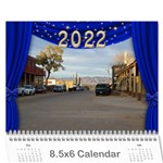 Our Production 2018  (any Year) Calendar 8.5x6 - Wall Calendar 8.5  x 6