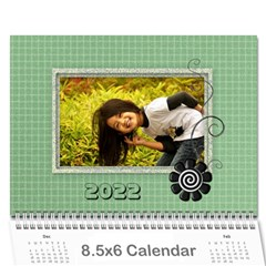 2015 Green   8 5x6 Wall Calendar By Angel   Wall Calendar 8 5  X 6    Z9rd8y2xt1hl   Www Artscow Com Cover