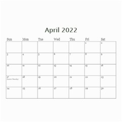 2019 Green   8 5x6 Wall Calendar By Angel   Wall Calendar 8 5  X 6    Z9rd8y2xt1hl   Www Artscow Com Apr 2019
