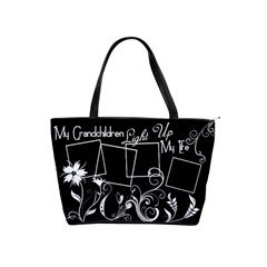 My Grandchildren Light Up My Life Handbag By Digitalkeepsakes   Classic Shoulder Handbag   2bqhluusdkq6   Www Artscow Com Front