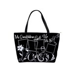 My Grandchildren Light Up My Life Handbag - Classic Shoulder Handbag