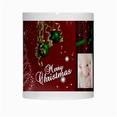 Christmas Collection White Mug By Picklestar Scraps   White Mug   Rupo7lzbs4cv   Www Artscow Com Center