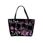 My Family Lights Up My Life Handbag - Classic Shoulder Handbag