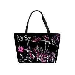 My Son Lights Up My Life Handbag By Digitalkeepsakes   Classic Shoulder Handbag   T9kq77lmgheo   Www Artscow Com Front