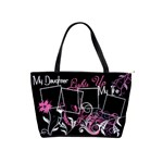 My Daughter Lights Up My Life Handbag - Classic Shoulder Handbag