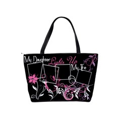 My Daughter Lights Up My Life Handbag By Digitalkeepsakes   Classic Shoulder Handbag   Demxryynx8ni   Www Artscow Com Back