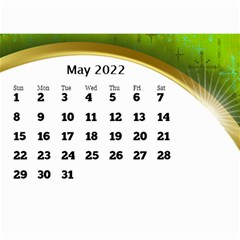 2017 Mini Calendar With Class And Large Numbers By Deborah   Wall Calendar 8 5  X 6    Ur97q45pj0ko   Www Artscow Com May 2017