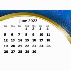 2017 Mini Calendar With Class And Large Numbers By Deborah   Wall Calendar 8 5  X 6    Ur97q45pj0ko   Www Artscow Com Jun 2017