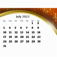 2017 Mini Calendar With Class And Large Numbers By Deborah   Wall Calendar 8 5  X 6    Ur97q45pj0ko   Www Artscow Com Jul 2017