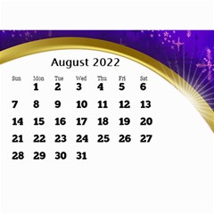 2017 Mini Calendar With Class And Large Numbers By Deborah   Wall Calendar 8 5  X 6    Ur97q45pj0ko   Www Artscow Com Aug 2017