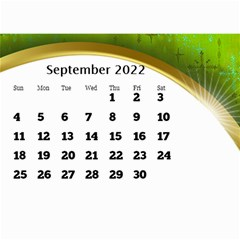 2017 Mini Calendar With Class And Large Numbers By Deborah   Wall Calendar 8 5  X 6    Ur97q45pj0ko   Www Artscow Com Sep 2017
