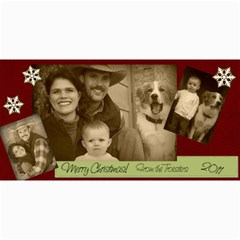 Christmas Card By Hilary Troester   4  X 8  Photo Cards   6j3ex4gjt8wx   Www Artscow Com 8 x4 Photo Card - 3