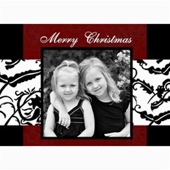 Merry Christmas  By Amanda Bunn   5  X 7  Photo Cards   Pq4u7wdf9u8w   Www Artscow Com 7 x5 Photo Card - 1