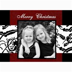 Merry Christmas  By Amanda Bunn 7 x5  Photo Card - 9