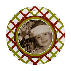 Favorite Ornament By Amanda Bunn   Round Ornament (two Sides)   Qazznknfy5tk   Www Artscow Com Front