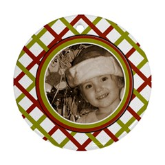 Favorite Ornament By Amanda Bunn   Round Ornament (two Sides)   Qazznknfy5tk   Www Artscow Com Back