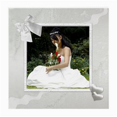 Our Wedding Medium Glass Cloth (2 Sided) By Deborah   Medium Glasses Cloth (2 Sides)   79aq93zl5q4s   Www Artscow Com Back
