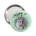 Kitty Handbag Mirror - 2.25  Handbag Mirror