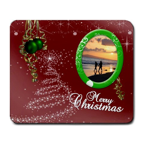 Christmas Collection Large Mousepad By Picklestar Scraps   Large Mousepad   Yf70kbvuhnaf   Www Artscow Com Front