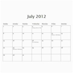 Calendar 2012 By Farron Jm   Wall Calendar 11  X 8 5  (12 Months)   In3cuym3s7h7   Www Artscow Com Jul 2012