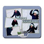 merry christmas 2 - large mousepaad - Large Mousepad