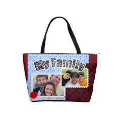 Family By Joely   Classic Shoulder Handbag   3u5pdrbeqyya   Www Artscow Com Front