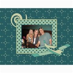Airplane Calander By Sandra Oldham   Wall Calendar 11  X 8 5  (12 Months)   2hsfq89ke7r4   Www Artscow Com Month