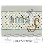 Calendar Yasen 2012 BG - Wall Calendar 11  x 8.5  (12-Months)