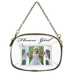 Flower Girl (2 Sided ) Purse By Deborah   Chain Purse (two Sides)   E89umubdy26v   Www Artscow Com Back