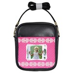 Pink Princess Girls Sling Bag