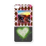 Love Argile Pink Phone Case - Apple iPhone 4 Case (White)