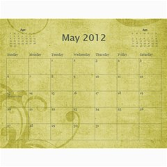 2013 Calendar By Jem   Wall Calendar 11  X 8 5  (12 Months)   Ox2tg65tv49l   Www Artscow Com May 2012