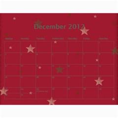 2013 Calendar By Jem   Wall Calendar 11  X 8 5  (12 Months)   Ox2tg65tv49l   Www Artscow Com Dec 2012