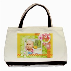 Flower By Joely   Basic Tote Bag (two Sides)   Usvbes62c8h7   Www Artscow Com Back