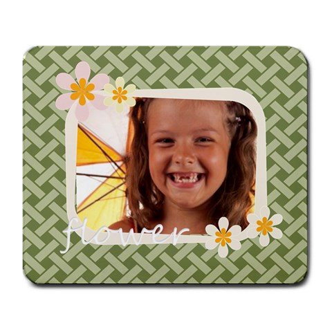 Flower  By Joely   Large Mousepad   Tvfp0ujjzg4r   Www Artscow Com Front