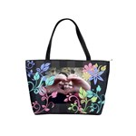 Colorful Flower Shoulder Bag - Classic Shoulder Handbag