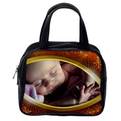 My Eye On You Classic Handbag (2 Sided) By Deborah   Classic Handbag (two Sides)   C9p8fx2oki4i   Www Artscow Com Back