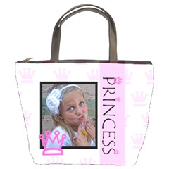 Princess Bucket Bag By Amanda Bunn   Bucket Bag   3tft50s5p4v5   Www Artscow Com Front