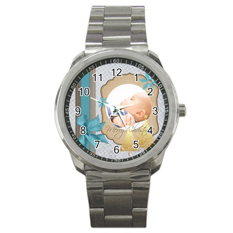Christmas By Joely   Sport Metal Watch   Fqffv3kc4f79   Www Artscow Com Front