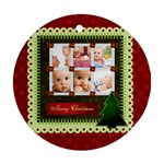 chistmas - Ornament (Round)