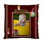 Christmas Angel Cushion Case (1-Sided) - Standard Cushion Case (One Side)