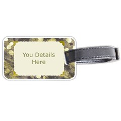 Holiday Luggage Tag (2 Sided) By Deborah   Luggage Tag (two Sides)   Pn4g5zenqajx   Www Artscow Com Back