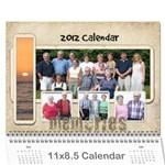 dads calender - Wall Calendar 11  x 8.5  (12-Months)