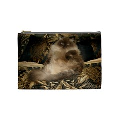 Royal Kitty Medium Makeup Purse by tammystotesandtreasures