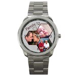 Family Sports Watch - Sport Metal Watch