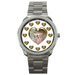 Heart Sports Watch - Sport Metal Watch